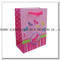 2015 newest top sale cheap paper bag creative shopping