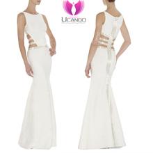 2015 Women sexy white Bandage Evening Dress, elegant evening dress