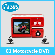2.0inch HD Dual Lens Car Dash Camera designed especially for motorcycle and truck