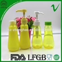 Pet nueva diseño botella plástica de la loción desde el proveedor de China