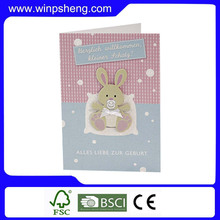 Hot Selling Fashionable Happy Birthday Greeting Card For Gift