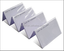 13.56MHz Blank PVC Card/RFID Card with M1 Classic S50 Chip (SL-1002)