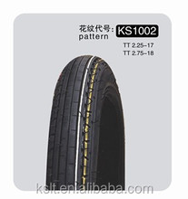 factory wholesale KS 1030 motorcycle tyre 2.25-17 made in china tubeless