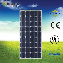 Bluesun Best price paneles+solares+miami mono100w solar panel