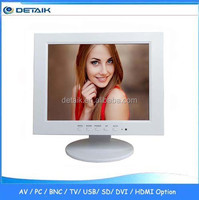 DTK-1088 New White Color VGA Input 10 Inch Monitor