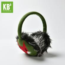 Fashion Custom Made 100% Acrylic Fox Four Seasons Adult Knitted Earmuff
