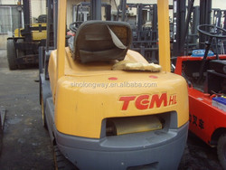 Japan original used TCM forklifts for sale / TCM 2/3/5/7/10 ton used forklifts
