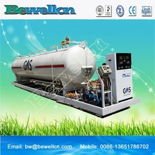 China Best 2370 galones LPG recarga planta