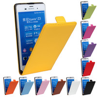 Phone Cases Leather Cover Flip Cover Case For Sony Mix Different Models in One Order