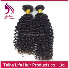 Top grade virgin human make straight hair wavy curl