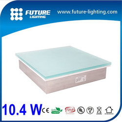 Outdoor IP67 Toughness glass cover 300*300mm RGB recessed led brick light