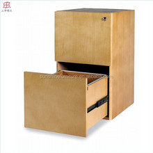 2 drawers E-1 standard professional office wooden file cabinet
