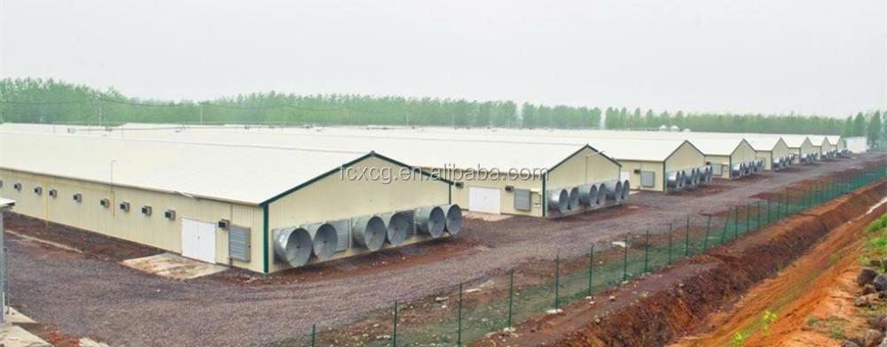 Pr fabriqu s volaille mat riel agricole de poulet maison poulailler industriel vendre maisons for Maison prefabriquee occasion