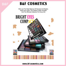 Eyeshadow Cosmetic hot sale compact makeup brush kits