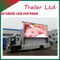 Sunrise Digital Truck Media Vehicle LED Display Billboard Vans Can be Customized