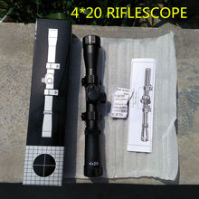 hot sale 4/020 riflescope optical bow spoting scope for outdoor hunting and shooting on the crossbow and compound bow wide field