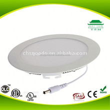 Ceiling support price Office housing round led panel light 14w
