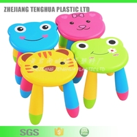 2016 Best selling High Quality plastic PP colorful foldable cheap kids children stool baby sitting chair