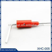 XHC-005 Security strip seals zipper lock seal poly bag with plastic hanger