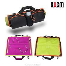 Fationable Multi-Function Black Folding Portable Yoga Mat Bag