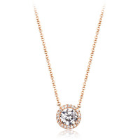 Easy zircon statement necklaceof fashion jewelry bead neckalce for womens accessories