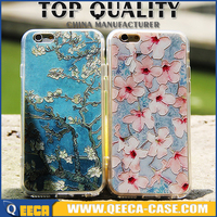 UV printing PC&TPU case for iphone/ 2015 best selling design printing phone case custom