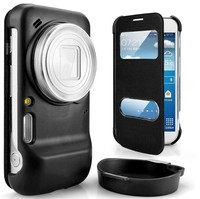 Flip Cover Case For Samsung GALAXY S4 Zoom C101