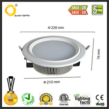factory direct sale led fixture downlight for china market
