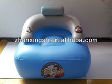 Hot selling cheap inflatable pvc air chair for kids promotion