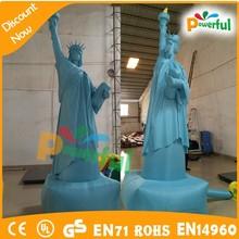 2015 nueva inflable de la estatua de la libertad modelo para la promoción / inflable estatua de la libertad