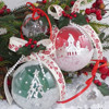 Chinese Supplier Wholesale Decoration Hanging Tree/Indoor Clear Plastic Ornament Christmas Ball