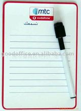 2012 hot selling promotion gift Magnetic board & mark pen for kids