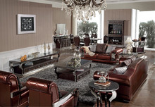 2015 New design living room furniture / modern PU sofa /leather sofa set SF108