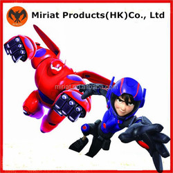 New Products Plastic Big Hero 6 action figures