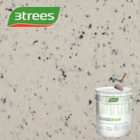 3TREES wall coating sand rock-chip textured exterial wholesale water based paint