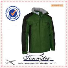 SUNNYTEX OEM Winter Garment Cheap Outwear Mens Softshell Jacket 2014