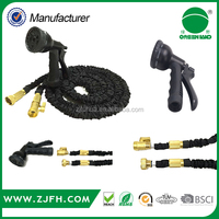 Best Selling On Amazon/Ebay Elastic Hose Expandable and Flexible Garden Hose. 25, 50 and 75 Foot Expanding or Collapsible Hose