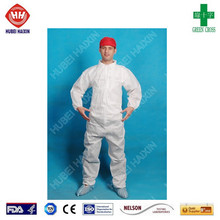 Wholesale disposable clothing in food, disposable sms coveralls