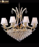 Modern Empire Crystal Chandelier Designer Pendant Lighting Hanging Lights for Home CZ2201/6