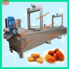 Continuous Food Fryer|Chip Conveyor Chicken Nugget Frying Machine|Chin-Chin Fryer Equipment