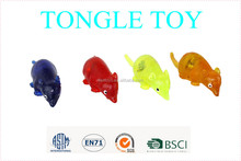 2015 hot selling Eco-friendly TPR cute simulation animal mouse toy