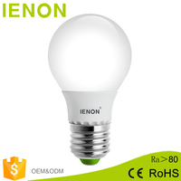 Wholesale led RGB bulb e27 base 5w dimmable led light bulb