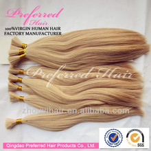 "100% Unprocessed Chinese Virgin Remy 8""-38"" Human Hair Bulk Wholesales"
