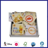 Customized Printing Funny Kids Early Educational Playing Card Memory Cards