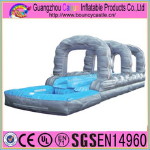 Huge Wild Splash inflatable slip and slide pool