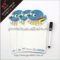 OEM custom design easy write and erase flexible magnetic whiteboard