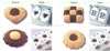 two color fortune cookies making machine