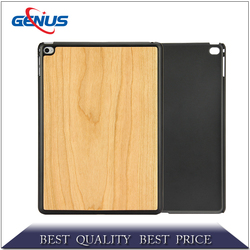 Hot new Wood Grain Series Stand Leather Case For ipad Air ipad 5
