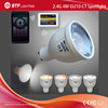 Mi Light 2.4g wifi controller+1x CCT GU10 bulb spotlight 4w led bulb