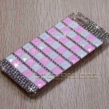 China Alibaba Fancy Wholesale for iPhone 6 Crystal Rhinestone Case Colored Back Cover Housing